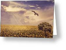 Daydream Greeting Card by Lourry Legarde
