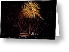 DC Celebration Greeting Card by David Hahn