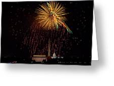 Dc Celebration Greeting Card by David Hahn