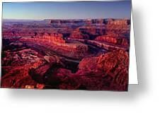 Dead Horse Point Greeting Card by Wade Aiken