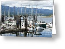 Deep Bay Harbor Greeting Card by Artist and Photographer Laura Wrede