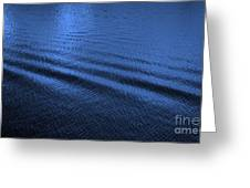 Deep Blue Sea Greeting Card by Carol Groenen
