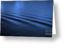 Deep Blue Sea Greeting Card by Carol Groenen