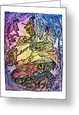 Deepsea Kritters Greeting Card by Mimulux patricia no