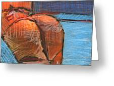 Derriere Greeting Card by Michal Rezanka