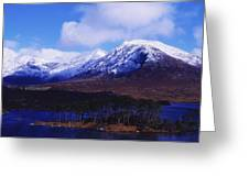 Derryclare Lough, Twelve Bens Greeting Card by The Irish Image Collection