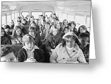 Desegregation: Busing, 1973 Greeting Card by Granger