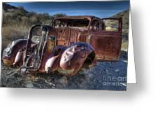 Desert Beauty Greeting Card by Bob Christopher