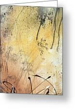 Desert Surroundings 1 By Madart Greeting Card by Megan Duncanson