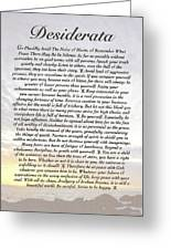 Desiderata 8 Greeting Card by Claudette Armstrong
