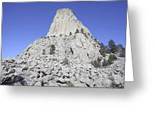 Devils Tower National Monument, Wyoming Greeting Card by Richard Roscoe