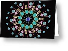Diatom Assortment, Sems Greeting Card by Steve Gschmeissner