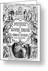 Dickens: Edwin Drood Greeting Card by Granger