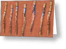 Didgeridoo Greeting Card by Janice T Keller-Kimball