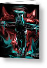 Die 4 Your Sins Greeting Card by Tbone Oliver