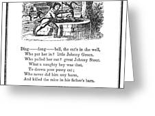 DING DONG BELL, 1833 Greeting Card by Granger