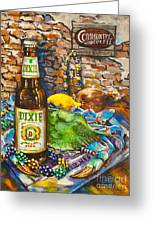 Dixie Love Greeting Card by Dianne Parks
