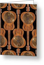 Dobro 4 Greeting Card by Mike McGlothlen