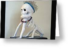 Dogman -2012 Greeting Card by Tammy Ishmael - Eizman