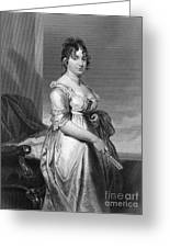 Dolley Payne Todd Madison Greeting Card by Granger