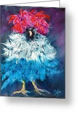 Dolly Greeting Card by Sally Seago