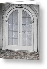 Door 20 Greeting Card by Cheryl Young
