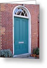 Doors 23 Greeting Card by Amethyst Wyldfyre