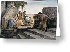 Dor�: Prodigal Son Greeting Card by Granger