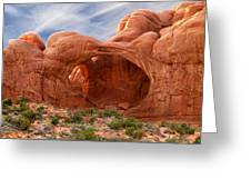 Double Arch 4 Greeting Card by Mike McGlothlen