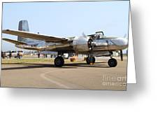 Douglas A26b Military Aircraft 7d15757 Greeting Card by Wingsdomain Art and Photography