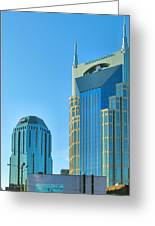 Downtown Nashville I Greeting Card by Steven Ainsworth