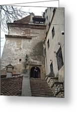 Dracula Castle Bran Transylvania Greeting Card by Mircea Veleanu