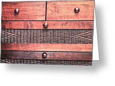 Drawers Greeting Card by Tom Gowanlock