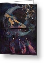 Dream Catcher Greeting Card by Dorina  Costras