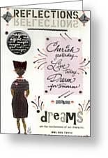 Dream For Tomorrow Greeting Card by Angela L Walker