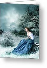 Dreamer Greeting Card by Julie L Hoddinott