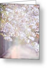 Dreaming Of Spring Greeting Card by Jenny Rainbow
