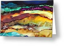 Dreamscape No. 173 Greeting Card by June Rollins