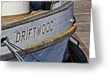 Driftwood Greeting Card by Bill Owen