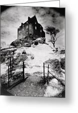 Duntroon Castle Greeting Card by Simon Marsden