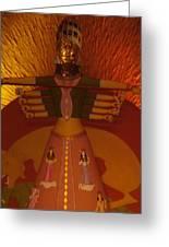 Durga Greeting Card by Prasenjit Dhar