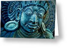 Dwaarapalaka Gatekeeper Greeting Card by Murali