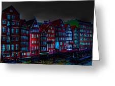 Dyke Road  -  Hamburg Greeting Card by EricaMaxine  Price