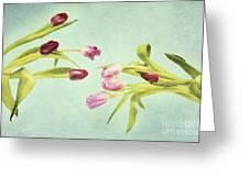 Eager For Spring Greeting Card by Priska Wettstein