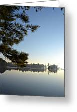 Early Morning On Lost Lake Greeting Card by Michelle Calkins