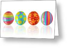 Easter Eggs Greeting Card by Carlos Caetano
