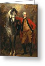 Edward Viscout Ligonier Greeting Card by Thomas Gainsborough