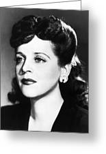 Eleanor Steber (1916-1990) Greeting Card by Granger