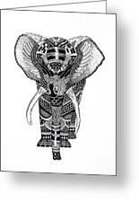 Elephant Greeting Card by JF Mondello