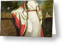 Elizabeth Gunning - Duchess of Hamilton and Duchess of Argyll Greeting Card by Sir Joshua Reynolds